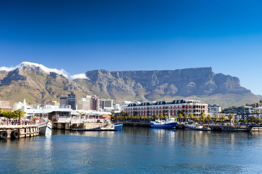 V&A Waterfront and Table Mountain