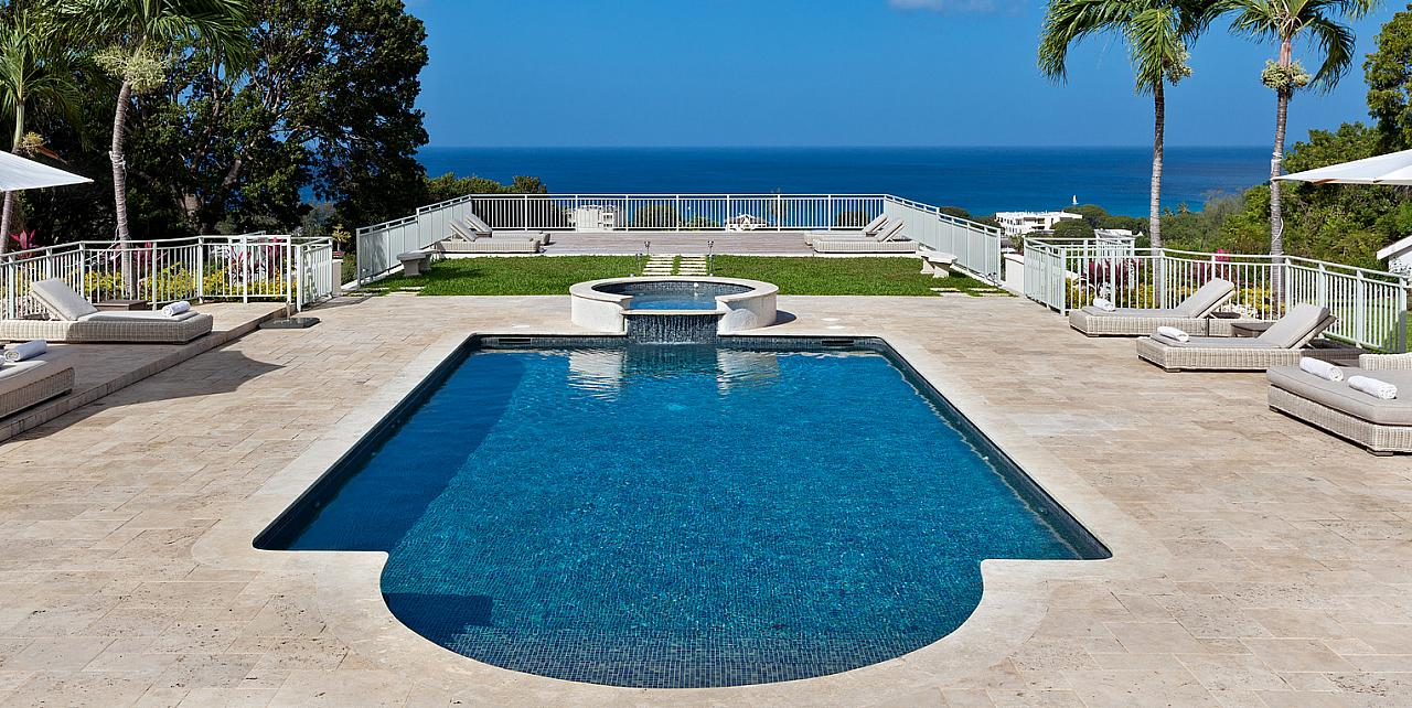 Barbados, High Breeze Polo Ridge Villa - Pool